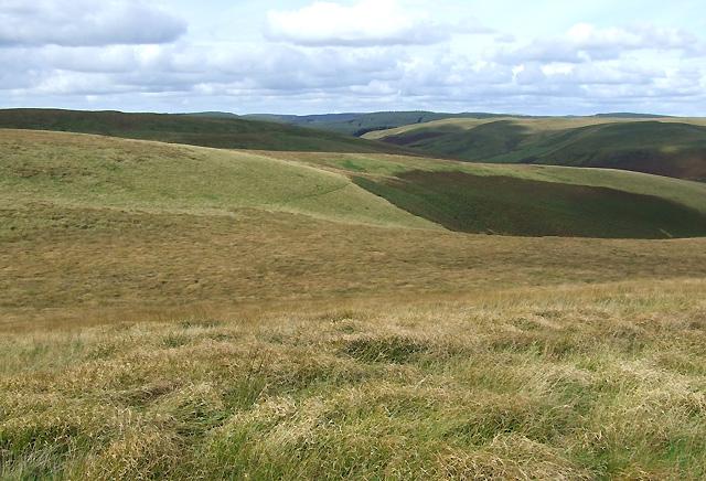 File:Elenydd Landscape from Bryn Mawr, Ceredigion - geograph.org.uk - 563891.jpg