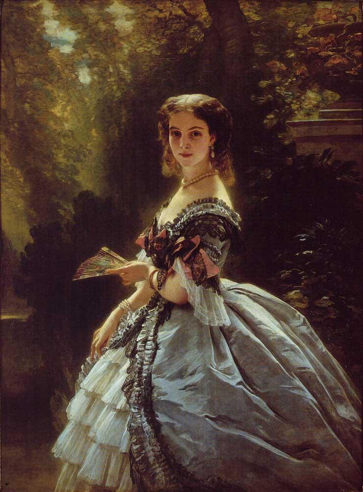 Портрет Ф. К. Винтерхальтера (1859)