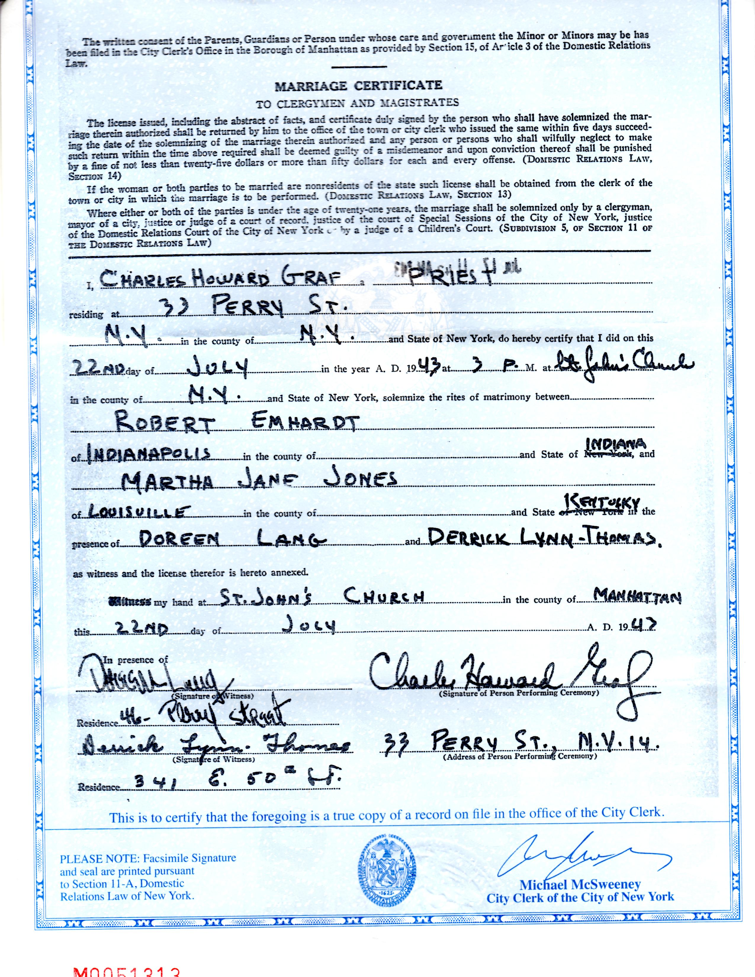 Fileemhardt Jones Marriage Certificateg Wikimedia Commons