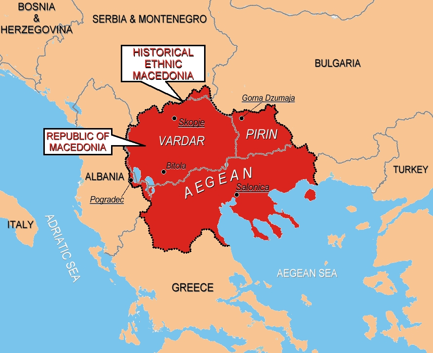 what was the relationship between greece and macedonia