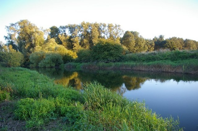 Evening view across the River Great Ouse - geograph.org.uk - 535542