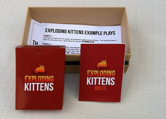 Picture of a game: Exploding Kittens