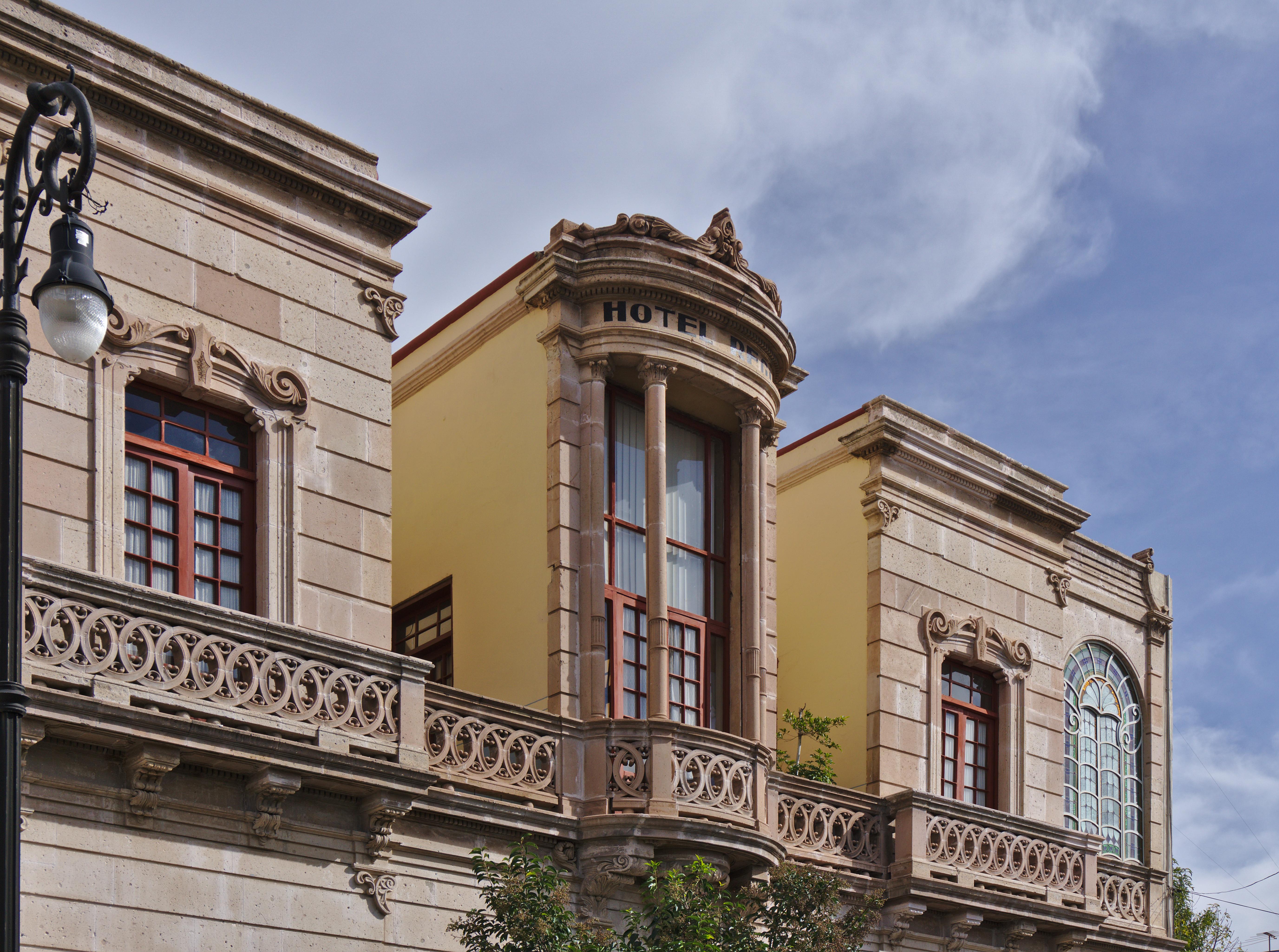 File Fachada Superior Del Antiguo Hotel Regis Aguascalientes Mexico Jpg