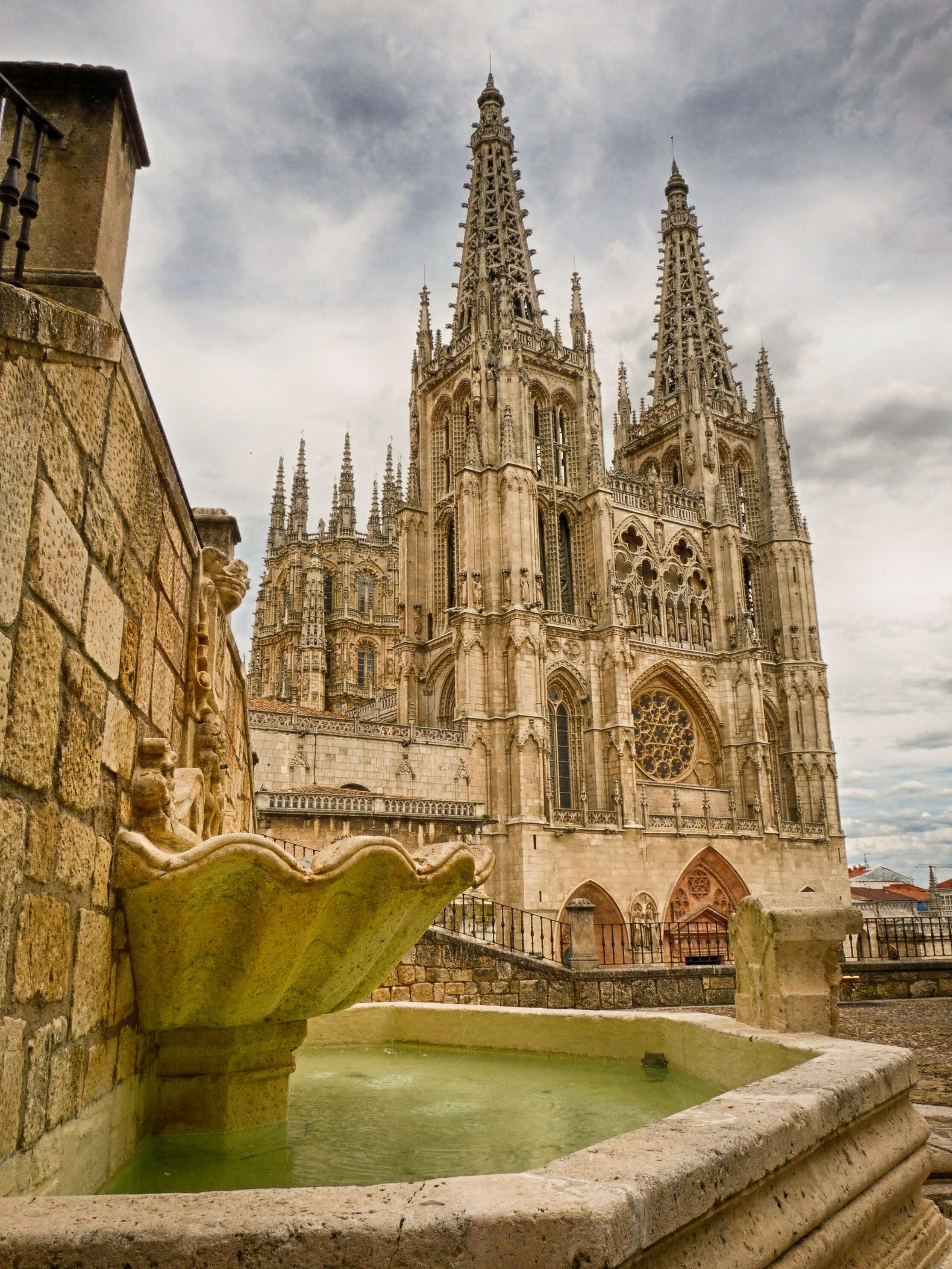 Resultado de imagen de Burgos catedral vista desde el castillo noche