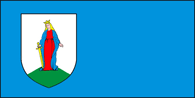 Flag of Lachčycy, Belarus.png