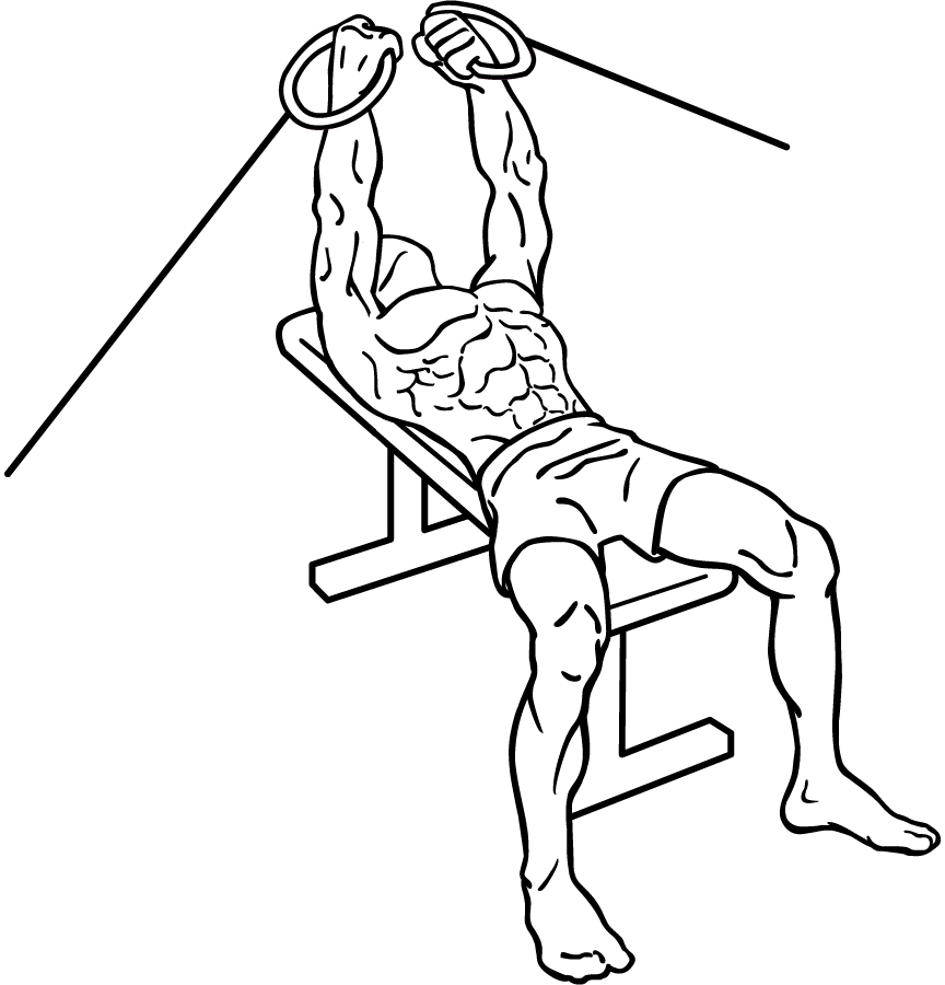 Fileflat Bench Cable Flys 1
