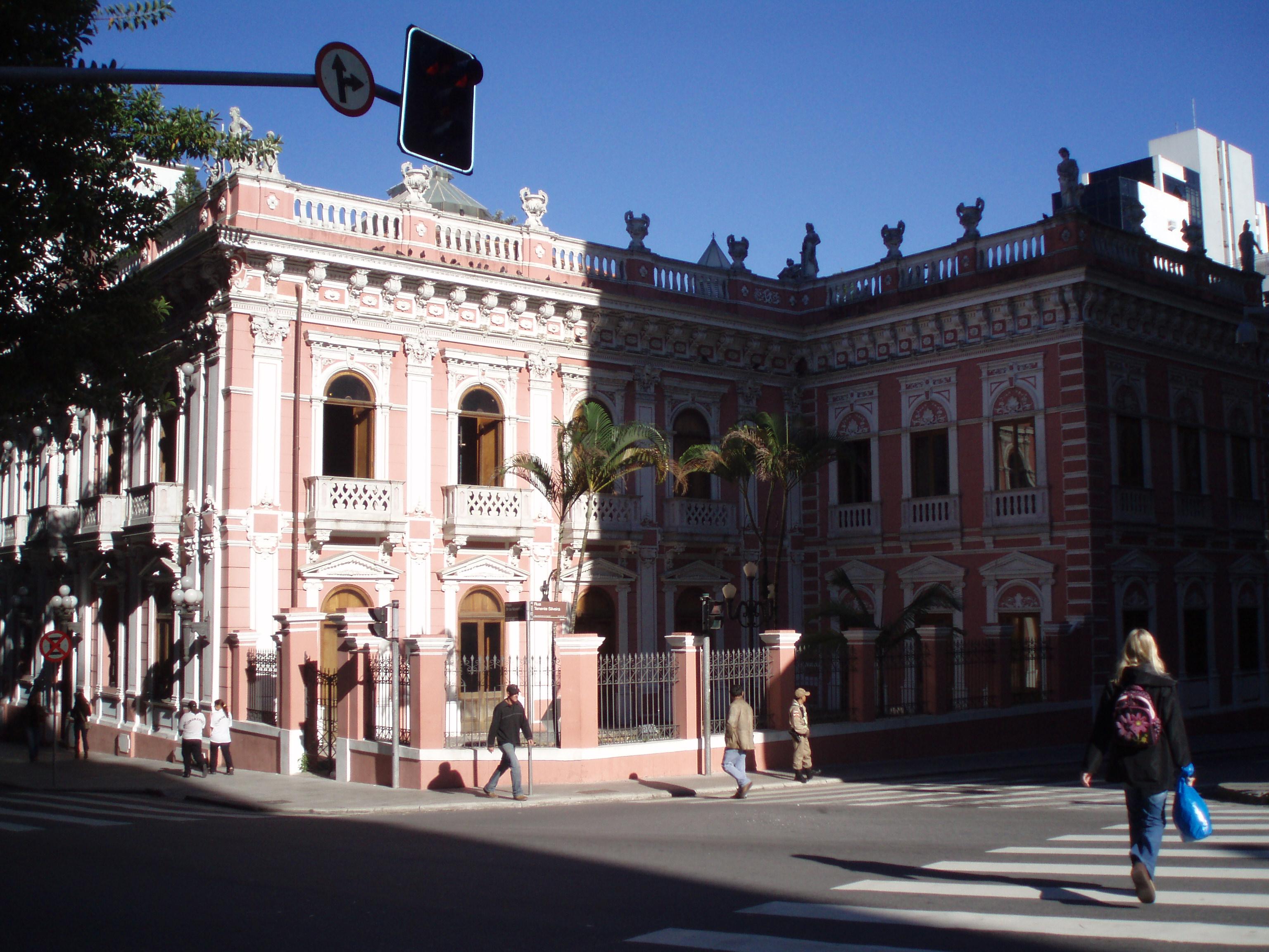palácio museu cruz e sousa em florianopolis