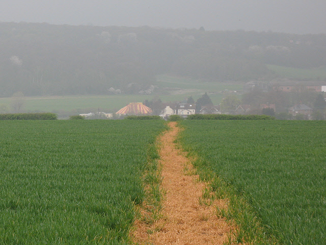 Footpath to Green Street Green - geograph.org.uk - 1247910