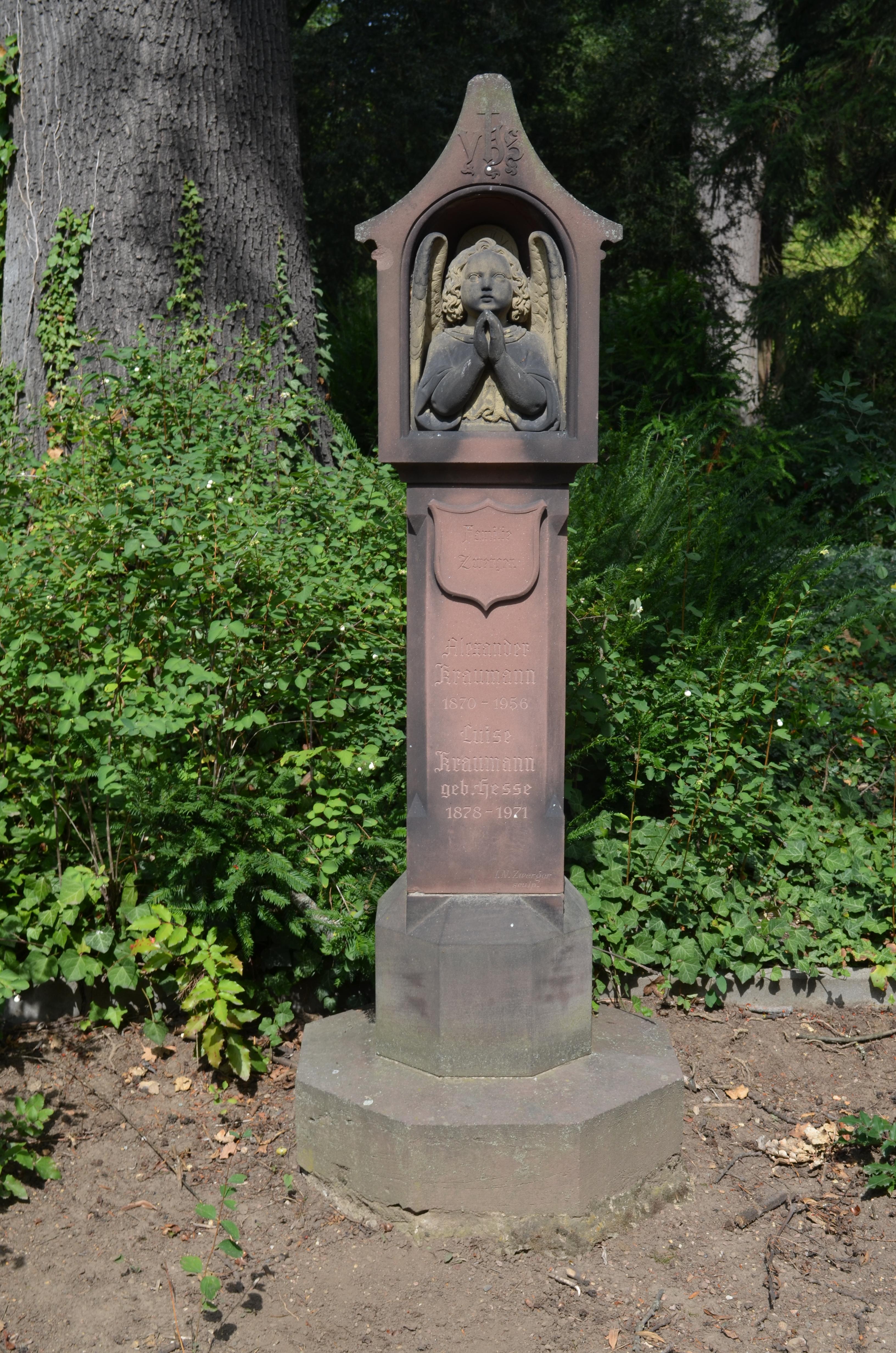 Dateifrankfurt Hauptfriedhof Grab D 256 Zwergerjpg Wikipedia