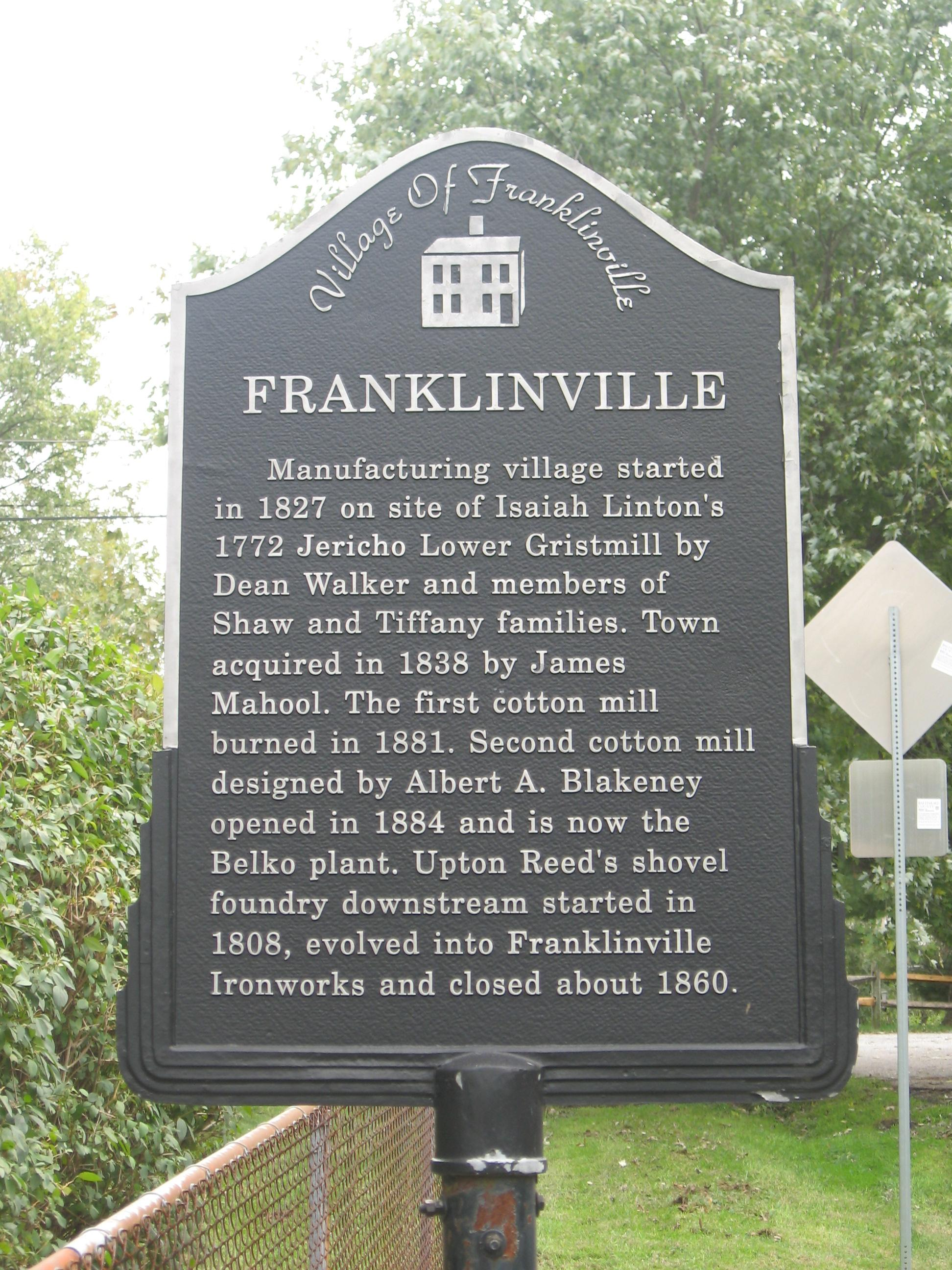 franklinville dating Franklinville dating and personals personal ads for franklinville, ny are a great way to find a life partner, movie date, or a quick hookup personals are for people local to franklinville, ny and are for ages 18+ of either sex.
