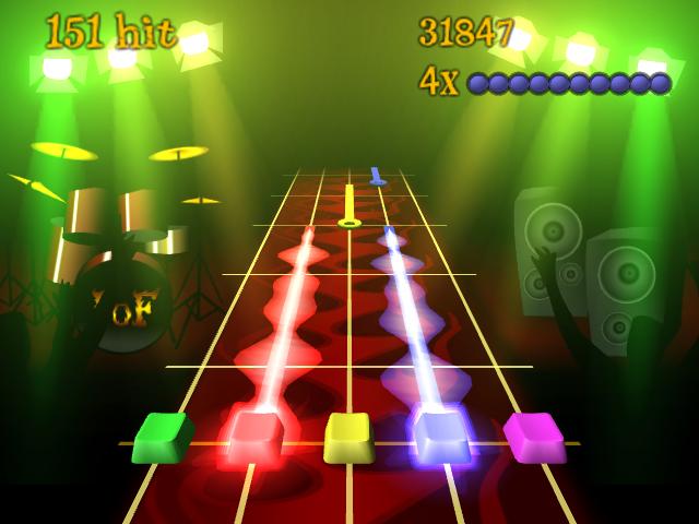 Guitar Simulator - Frets on Fire Screenshot