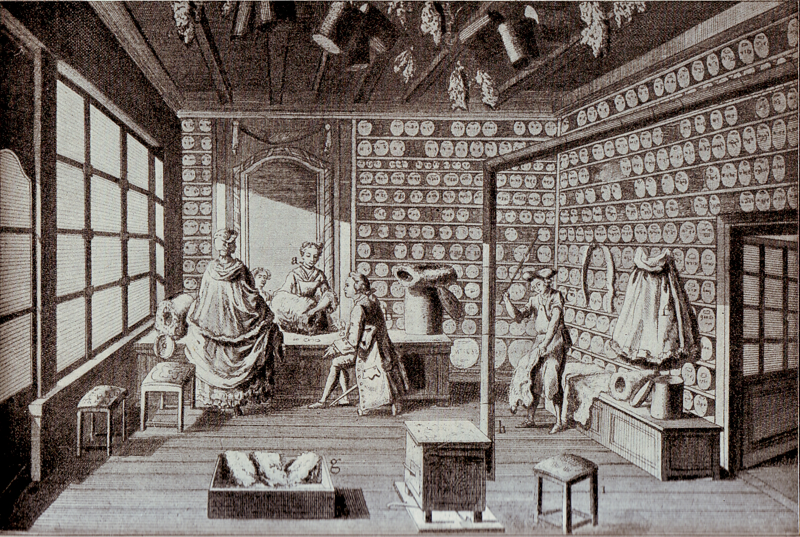 File:Furrier's shop in Paris (1765).jpg