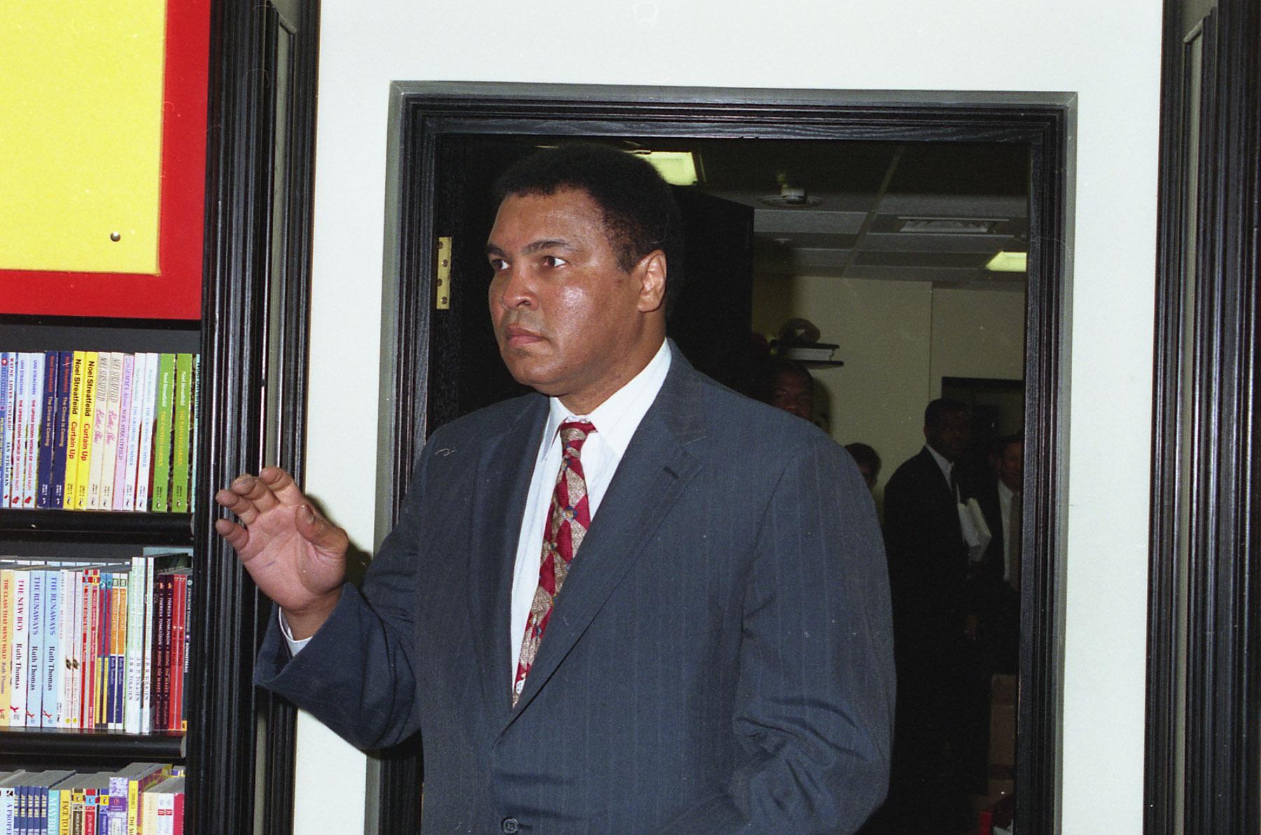 Muhammad Ali Interview Black Devil Cake