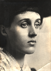 Portrait of Vanessa Stephen in 1902, by George Beresford