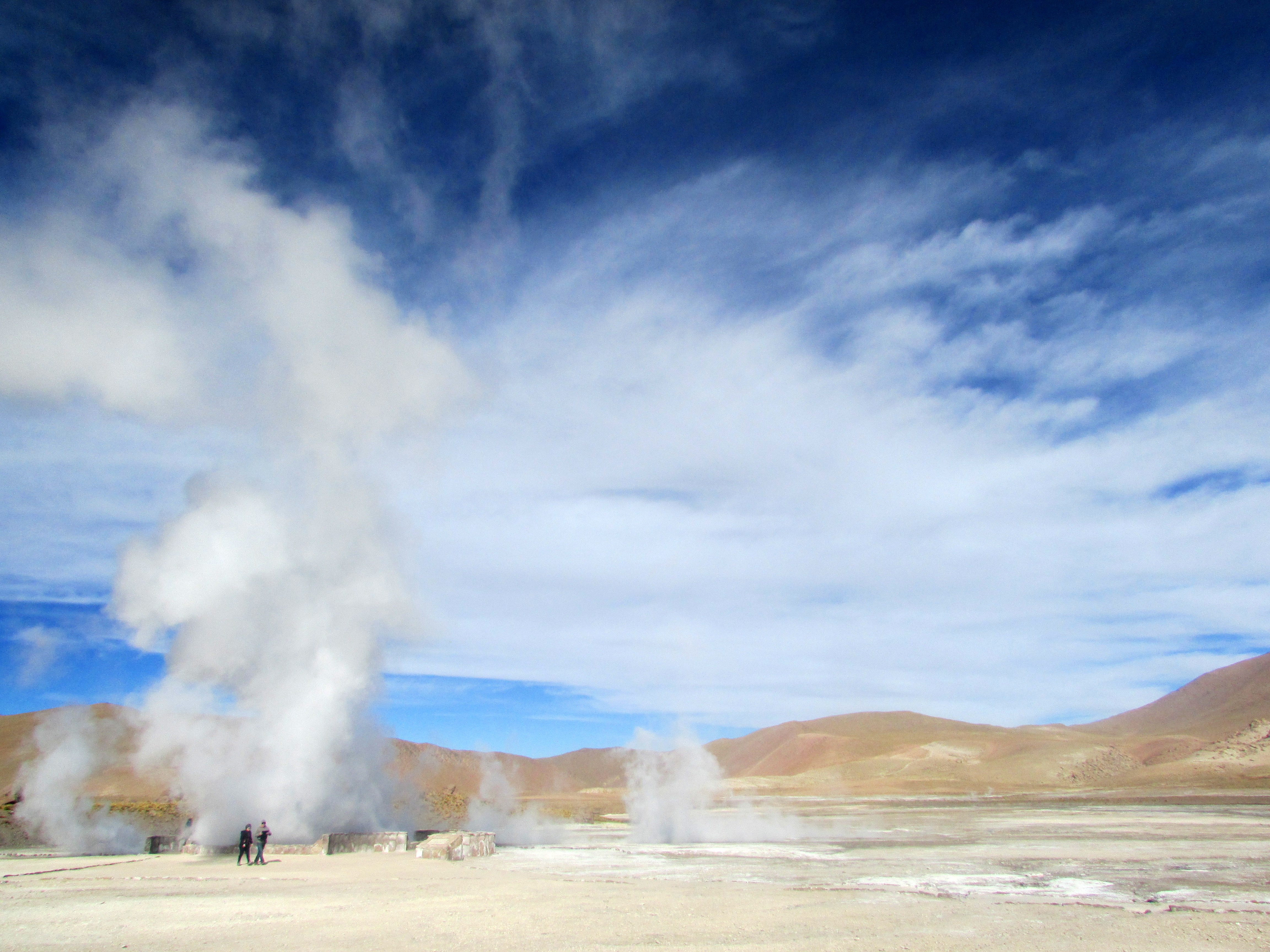 Geysers del Tatio - Photo © By Javivi moaxaja - Own work, CC BY-SA 3.0, https://commons.wikimedia.org/w/index.php?curid=32163250