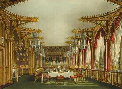 Gothic Dining Room Ideas