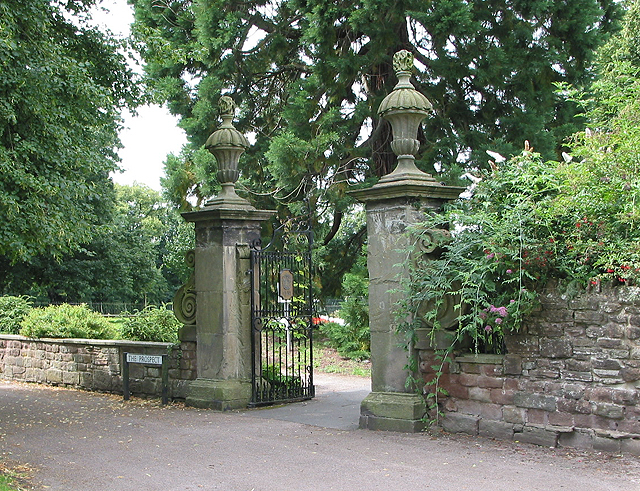 Grand entrance to The Prospect - geograph.org.uk - 515016