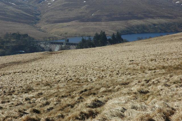 Grwyne Fawr Reservoir - geograph.org.uk - 1753353