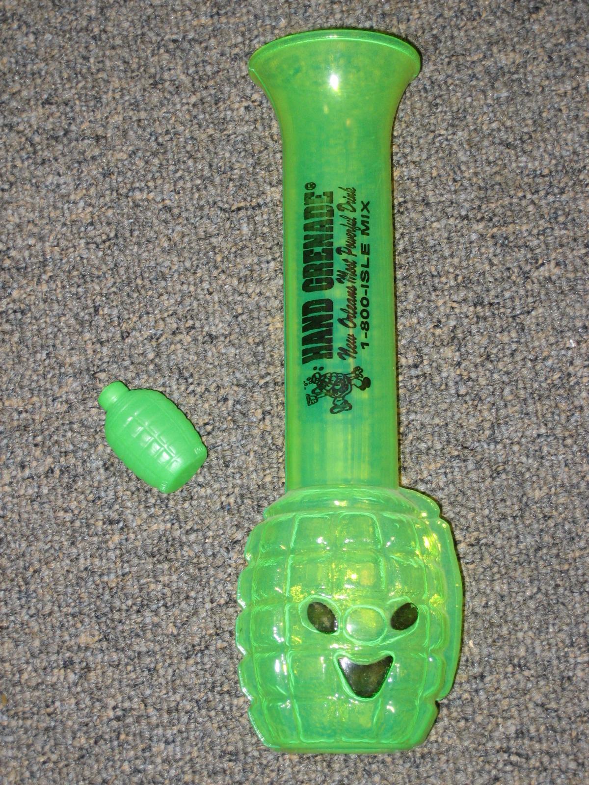 Green Gernade Drink New Orleans