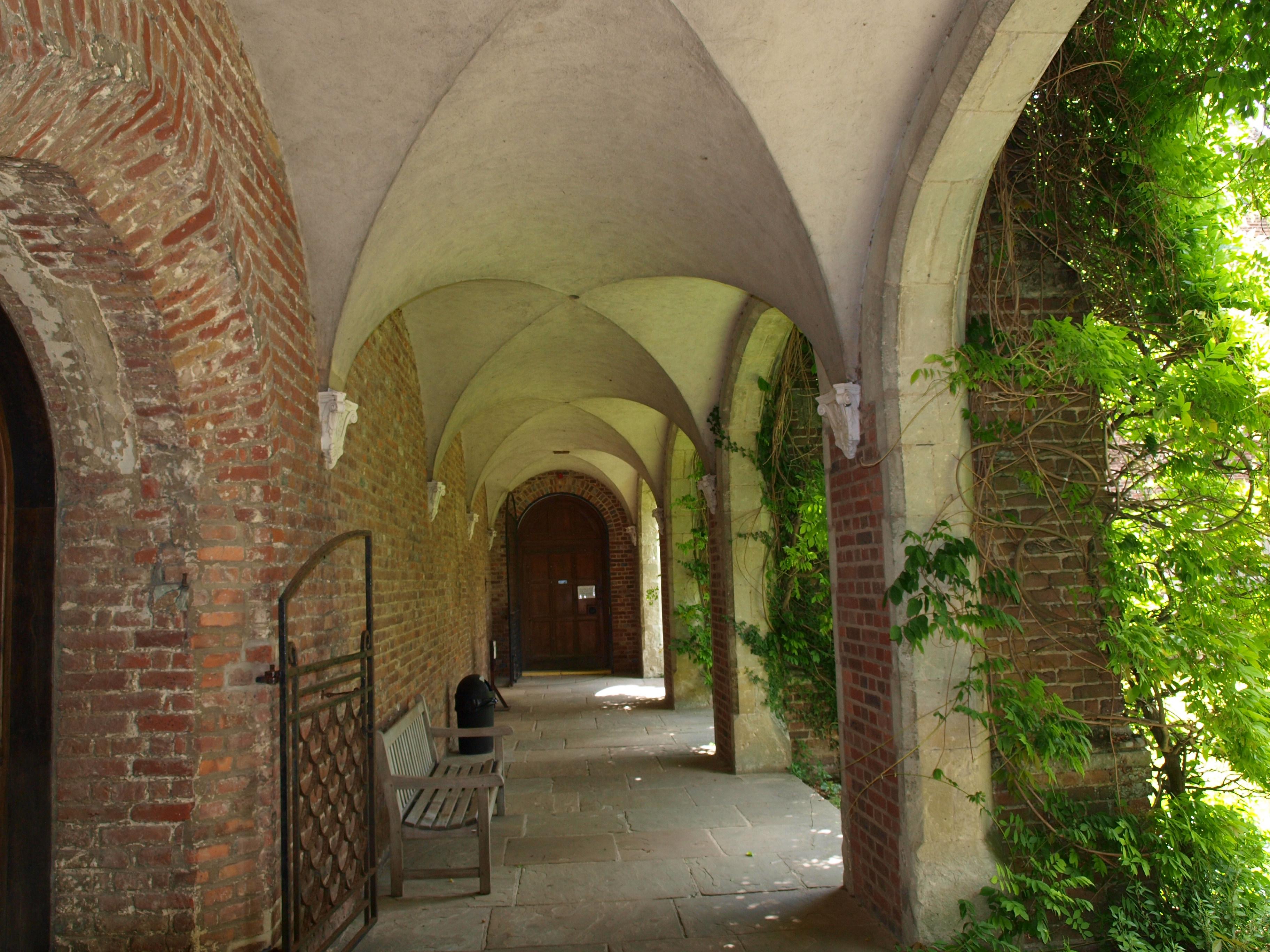 file:herstmonceux castle interior corridor - wikimedia commons