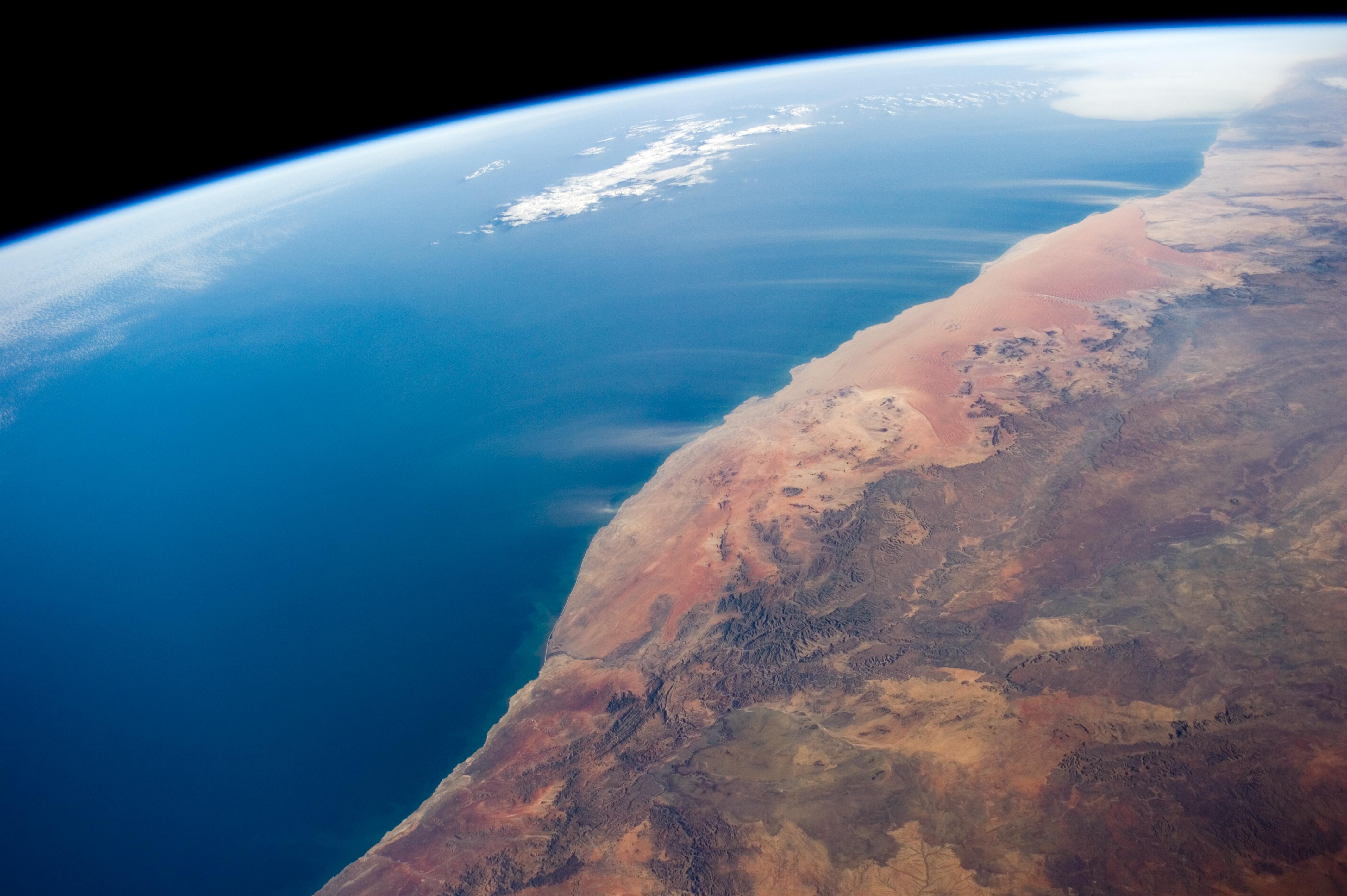 фото атлантического океана с космоса