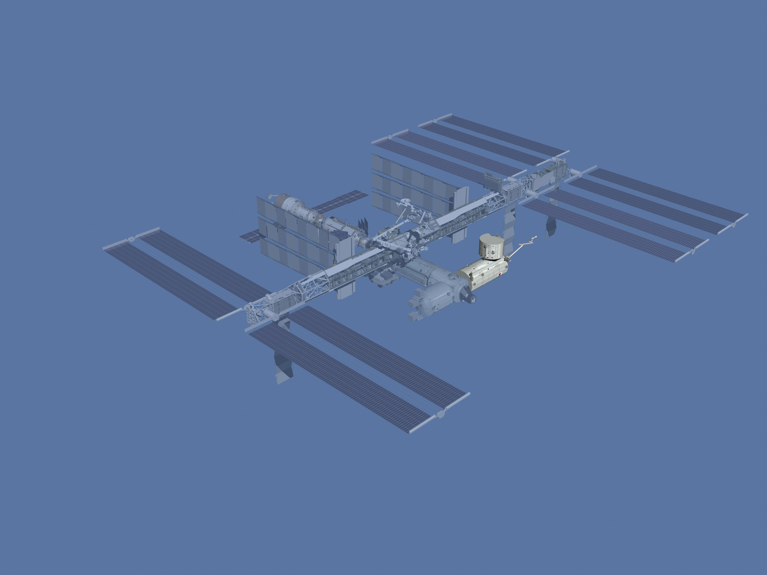 Animation assemblage ISS ISS_after_STS-124