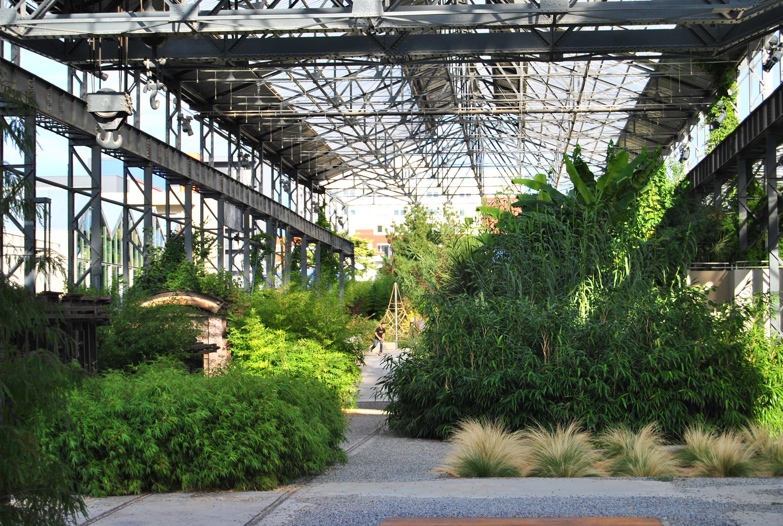 Jardin des fonderies for Jardin nantes
