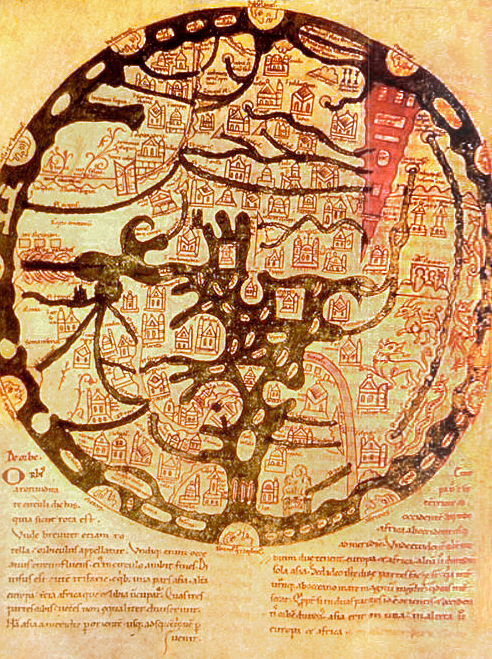 Oldest Known World Map.Early World Maps Wikipedia