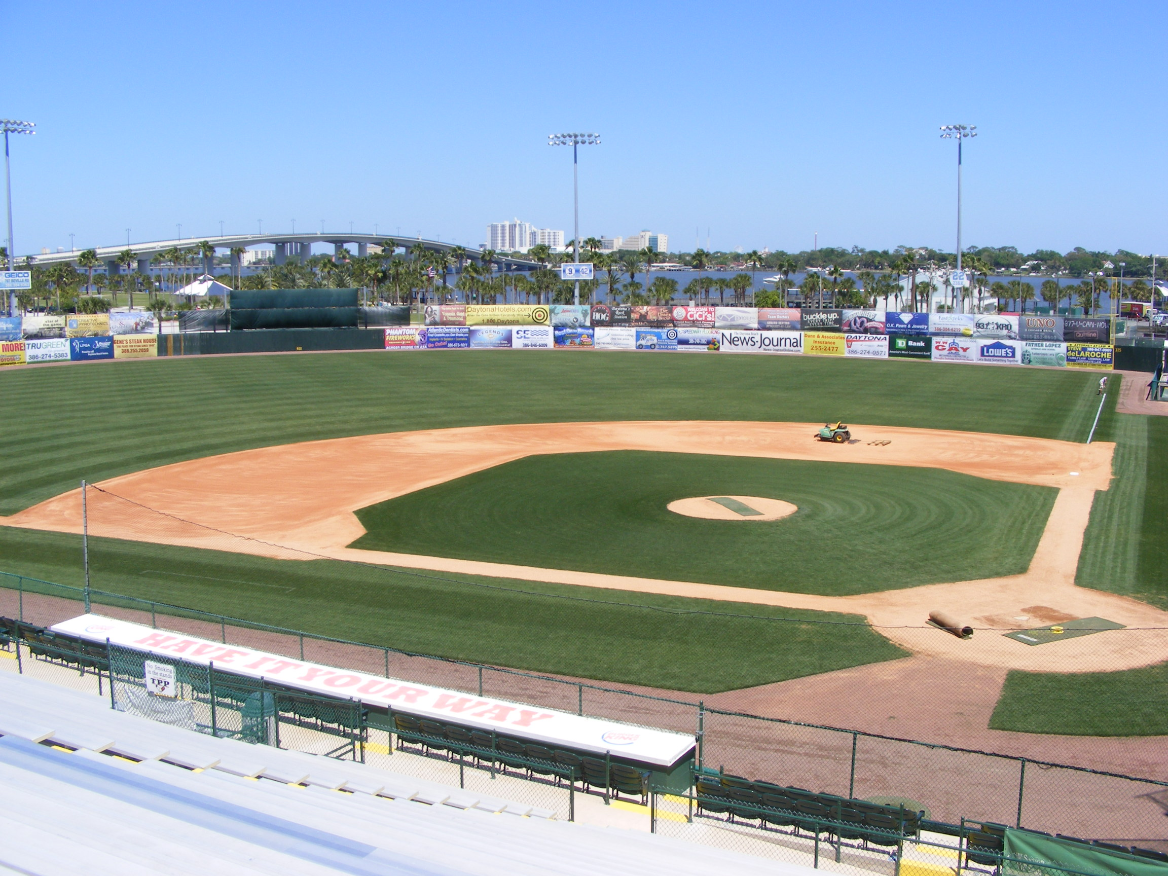 Jackie Robinson Baseball Field Daytona Beach
