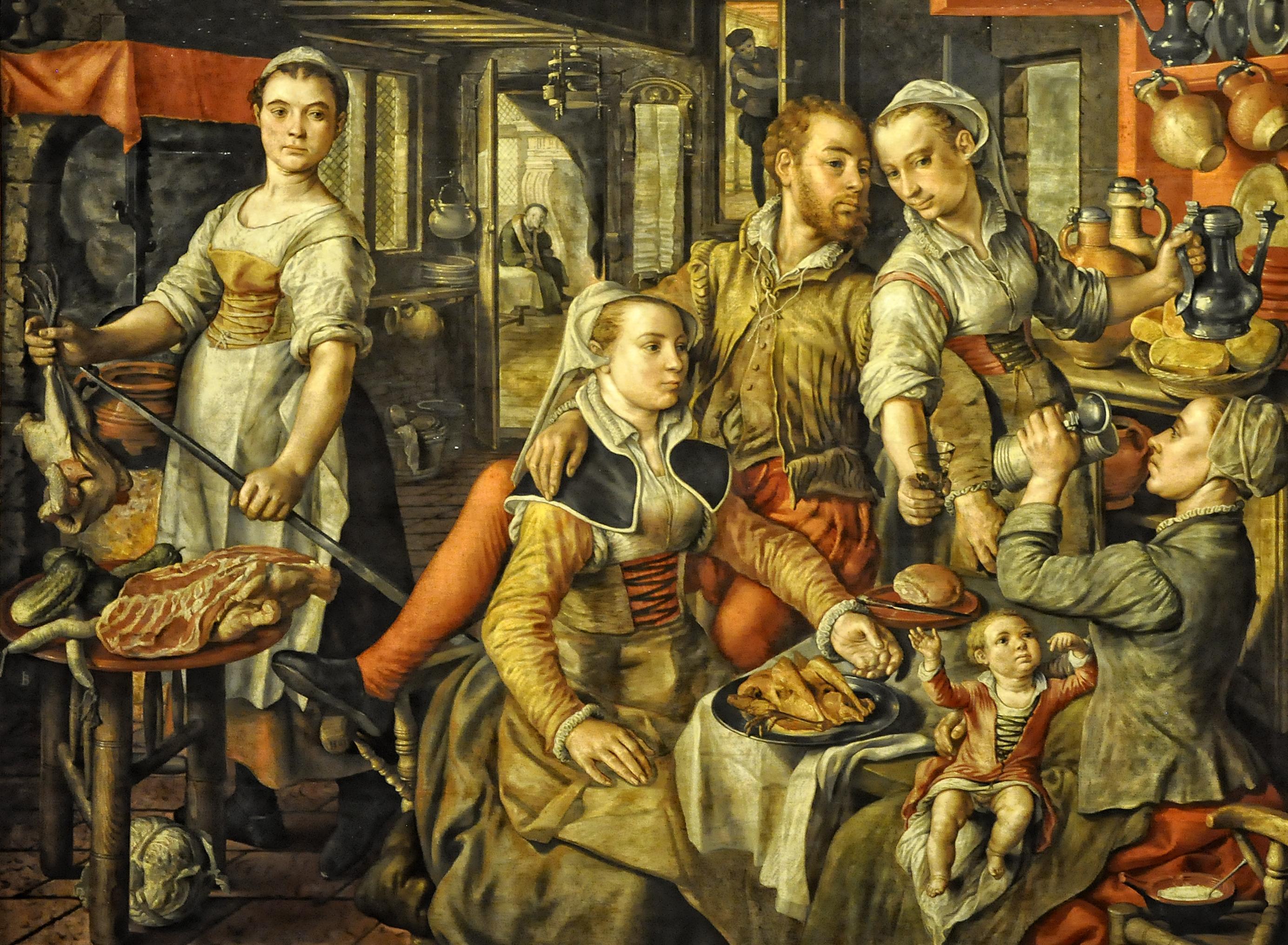 File:Joachim Beuckelaer (ca.1530- ca.1573) - Allegorie van
