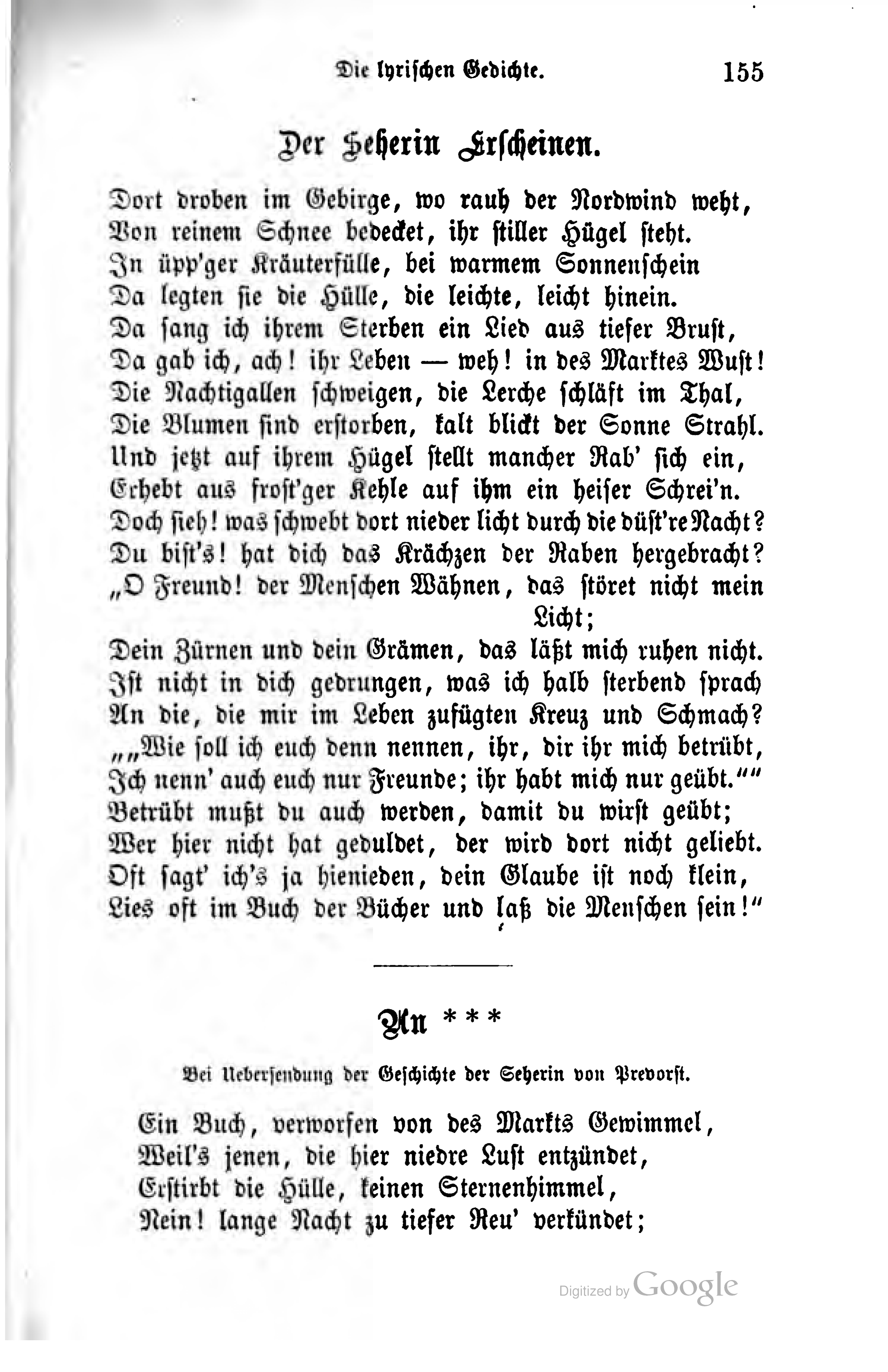 Filejustinus Kerner Ausgewählte Poetische Werke Band 1