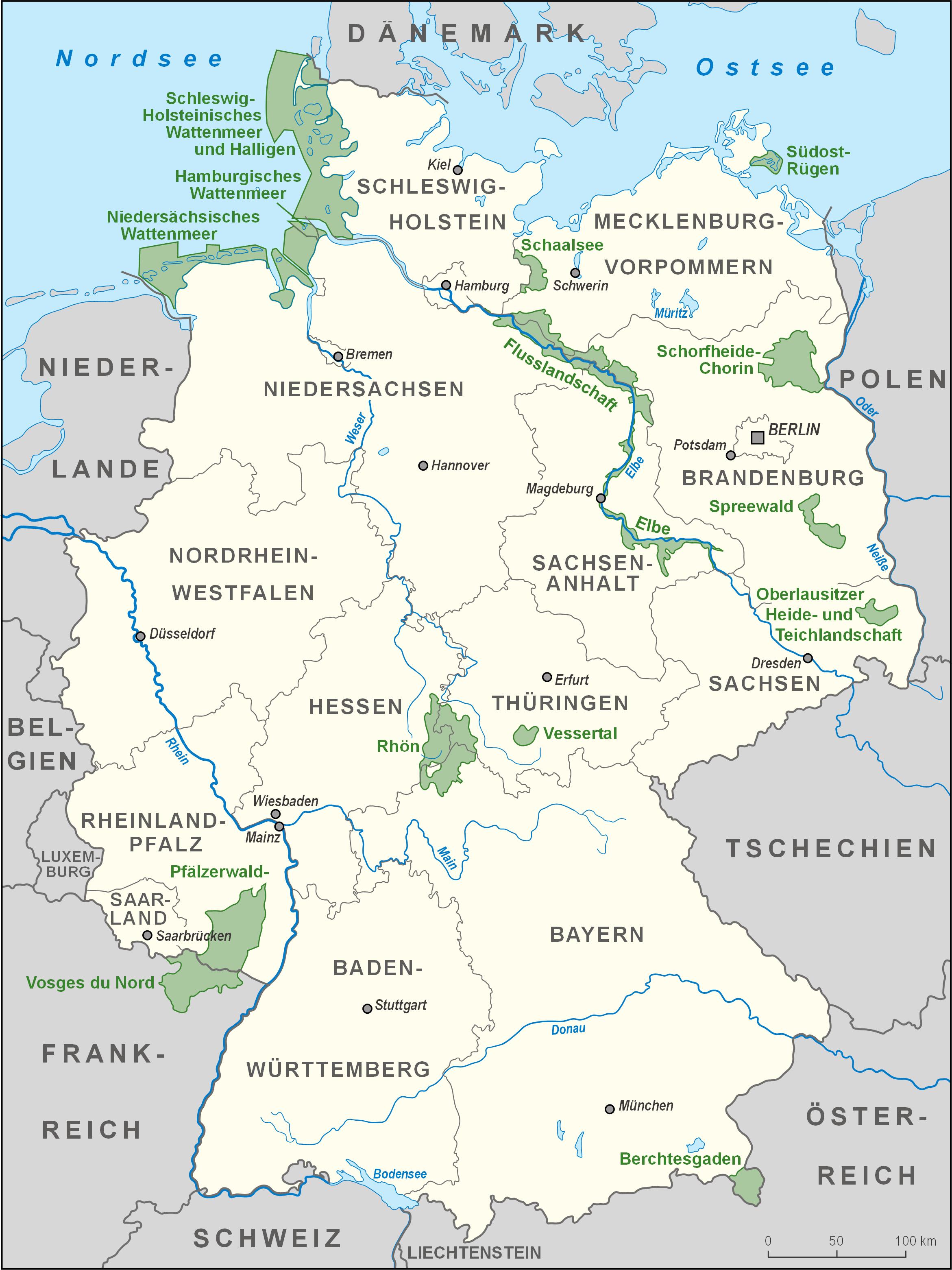 karte deutschland Datei:Karte Biosphärenreservate Deutschland high.png – Wikipedia