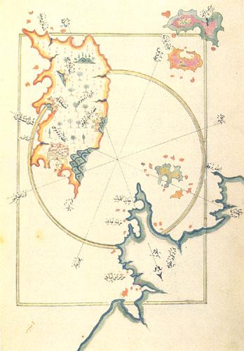 Marmaris Haritası - Piri Reis