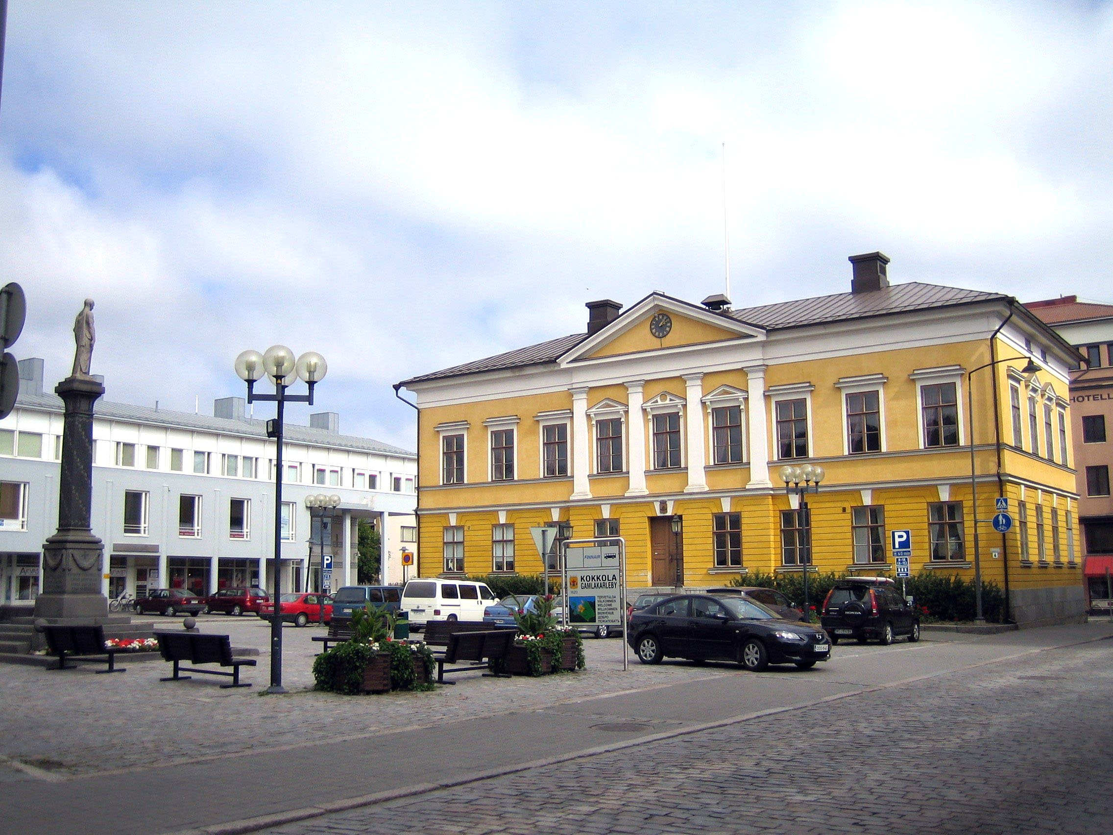 finland yellow building best places to visit in europe