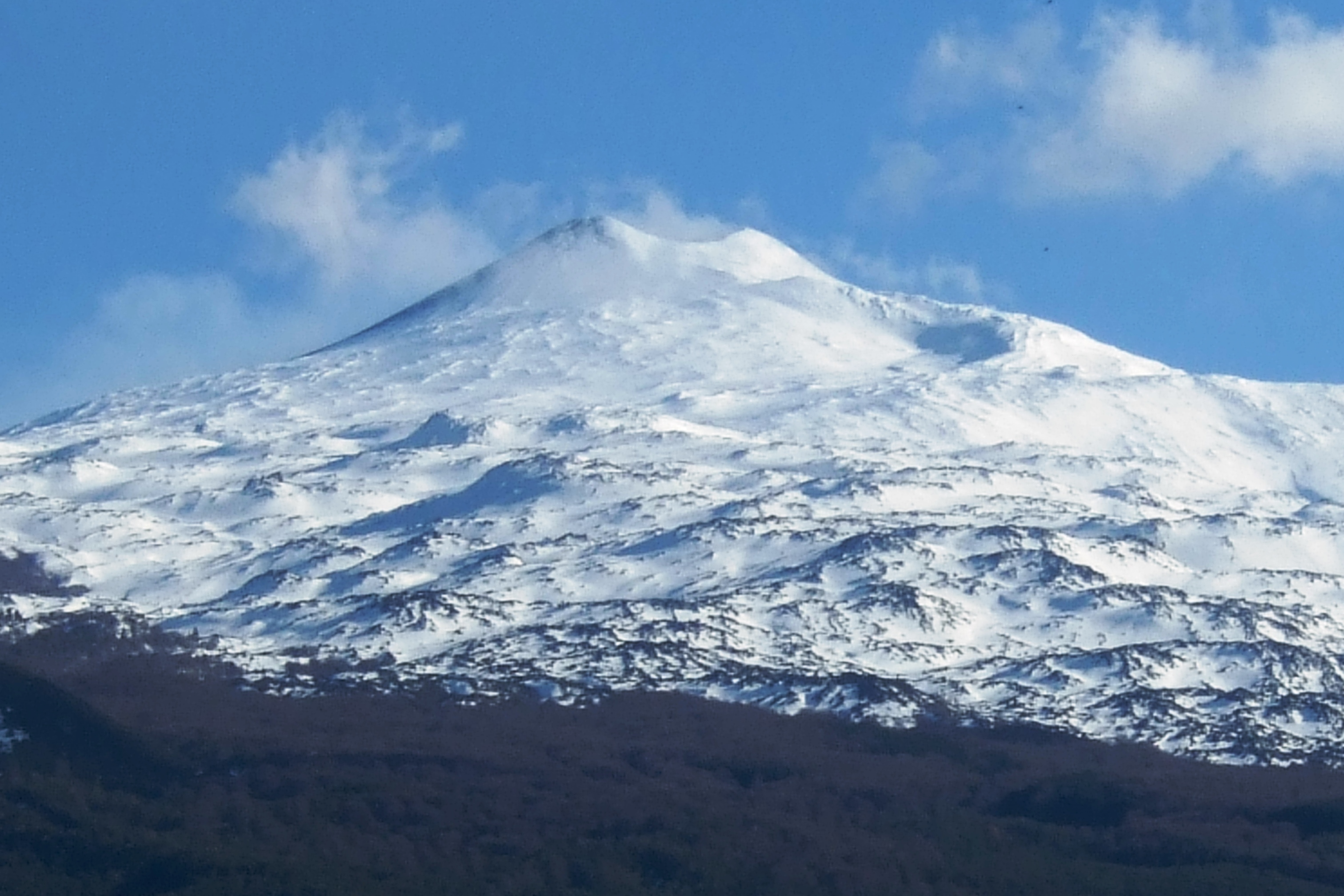 Mount Etna from Randazzo
