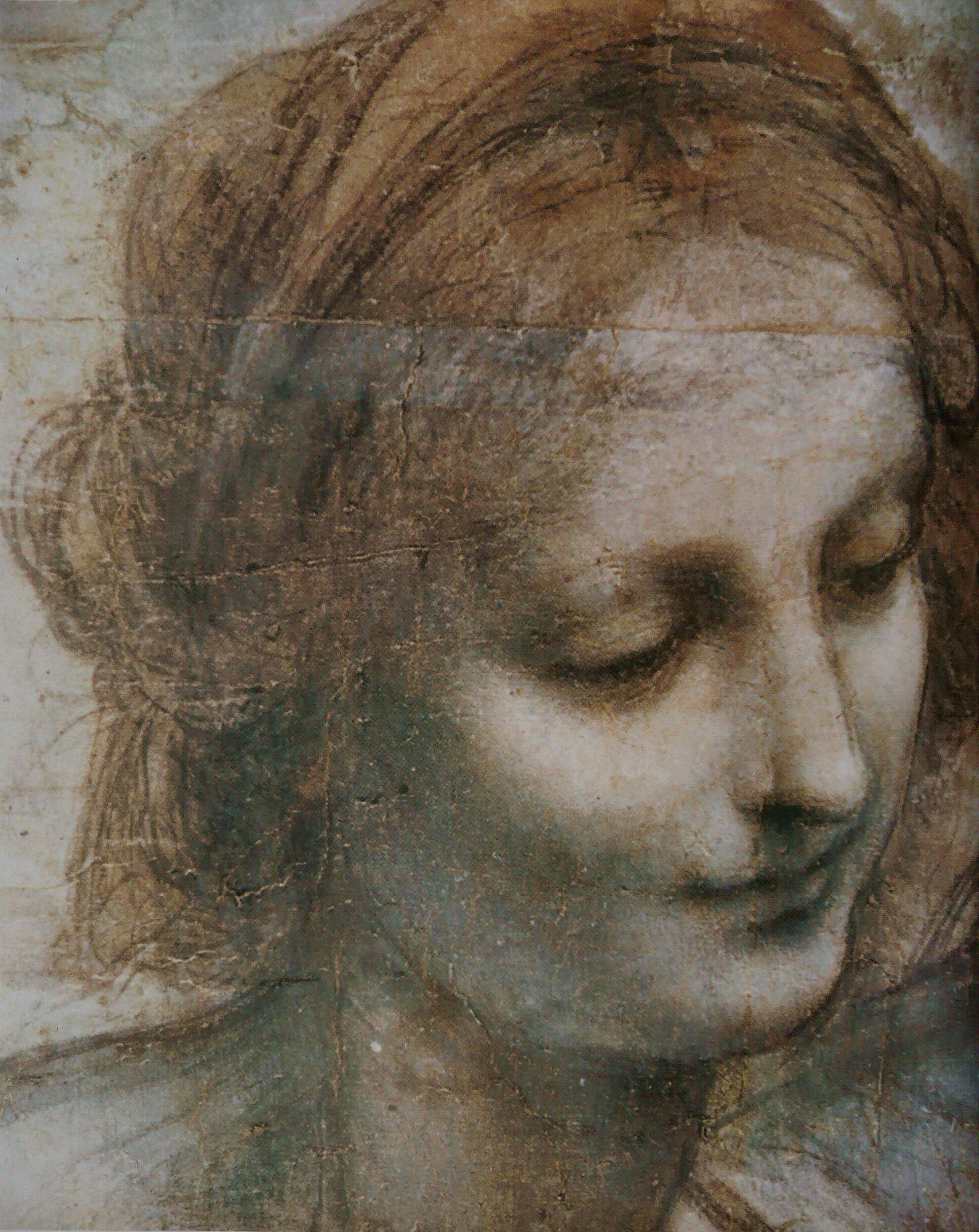 File l onard de vinci vierge enfant j sus ste anne st jean baptiste wikimedia commons - Photo leonard de vinci ...
