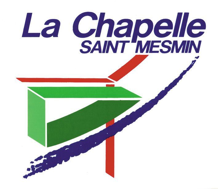 file logo ville la chapelle saint wikimedia commons. Black Bedroom Furniture Sets. Home Design Ideas