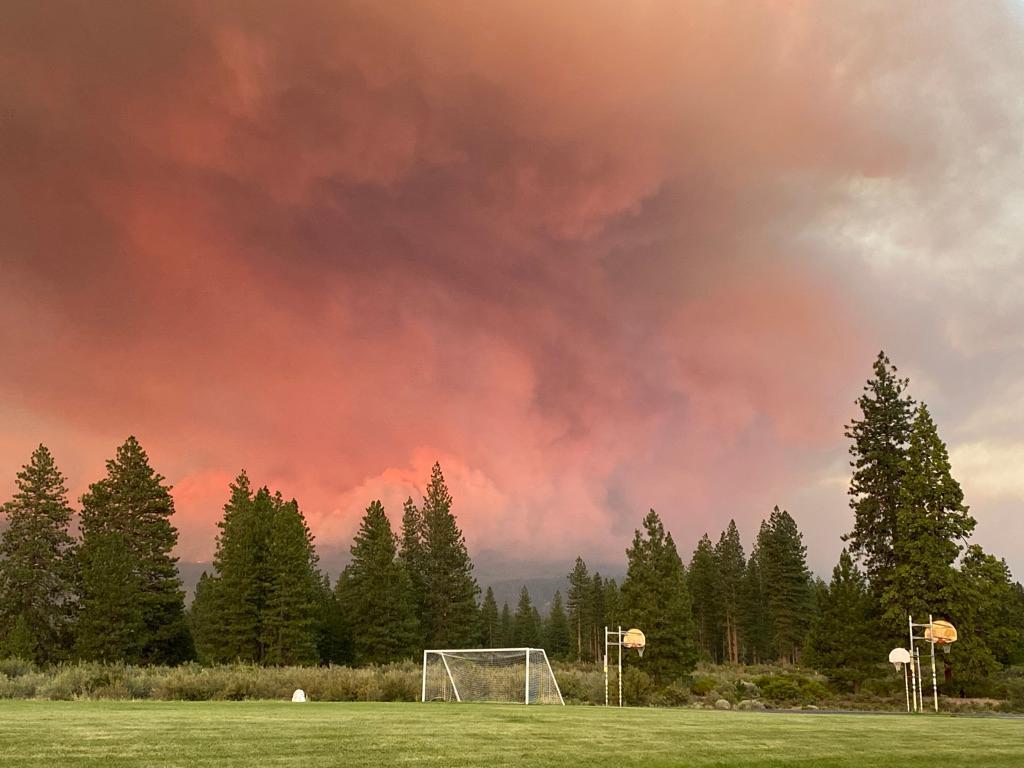 Caldor Fire Scorches California, Beginning A Potentially Devastating Fire Season