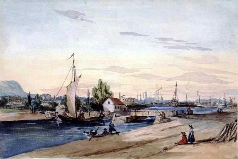 Le canal Lachine