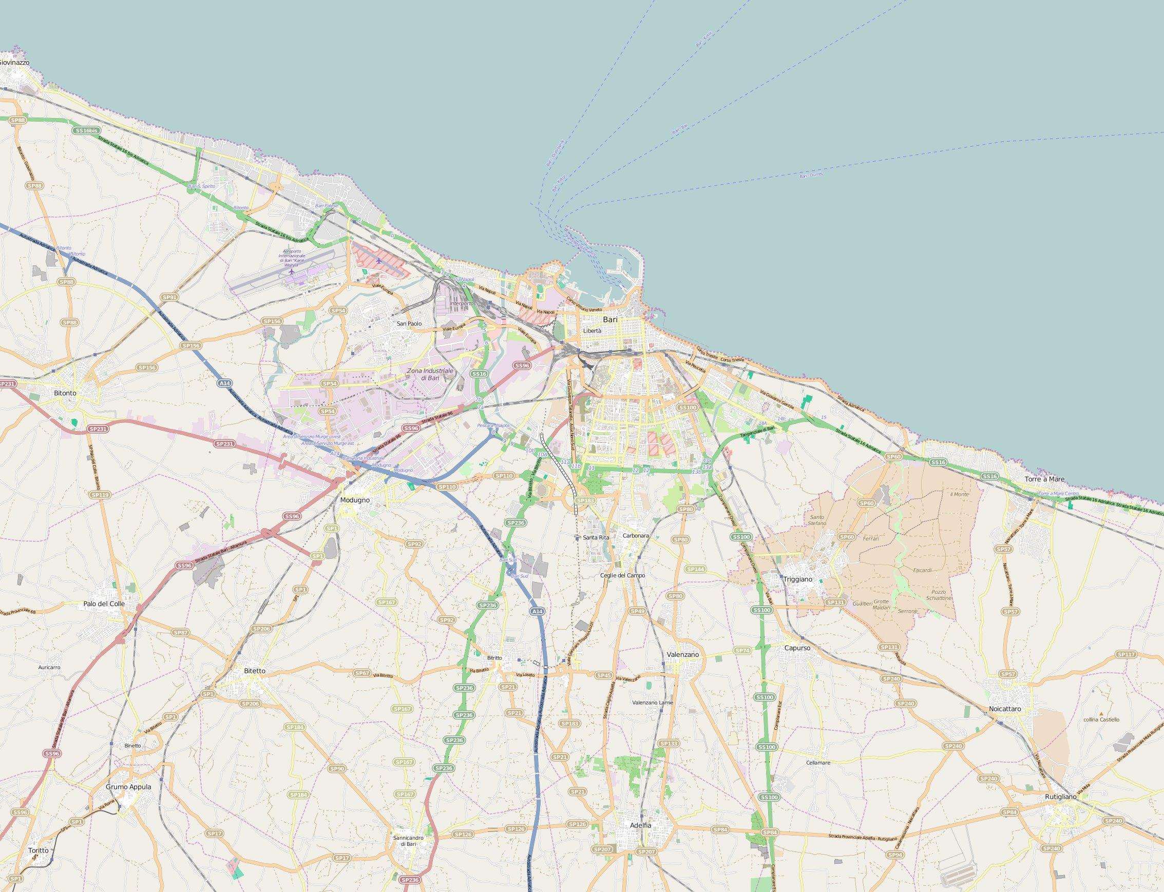 FileLocation Map Barijpg Wikimedia Commons - Bari map