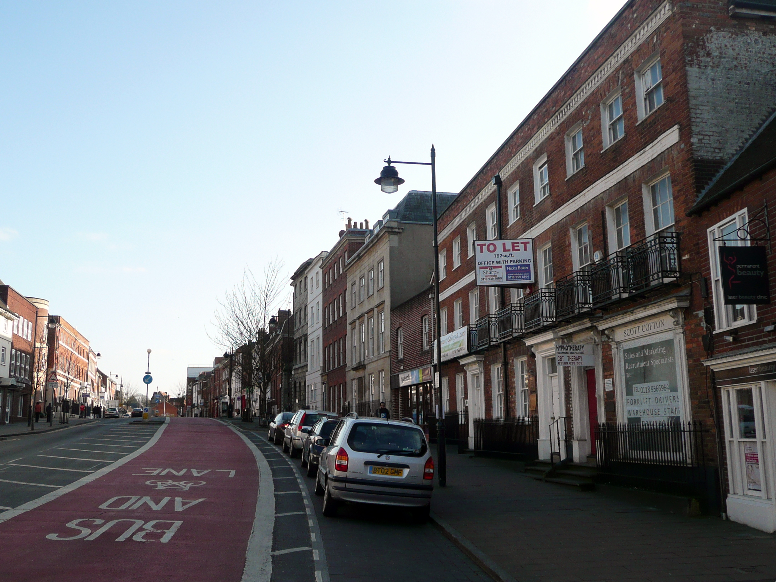 File London Street Reading Jpg Wikimedia Commons