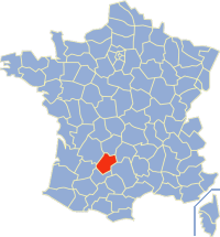 Communes of the Lot department Wikimedia list article