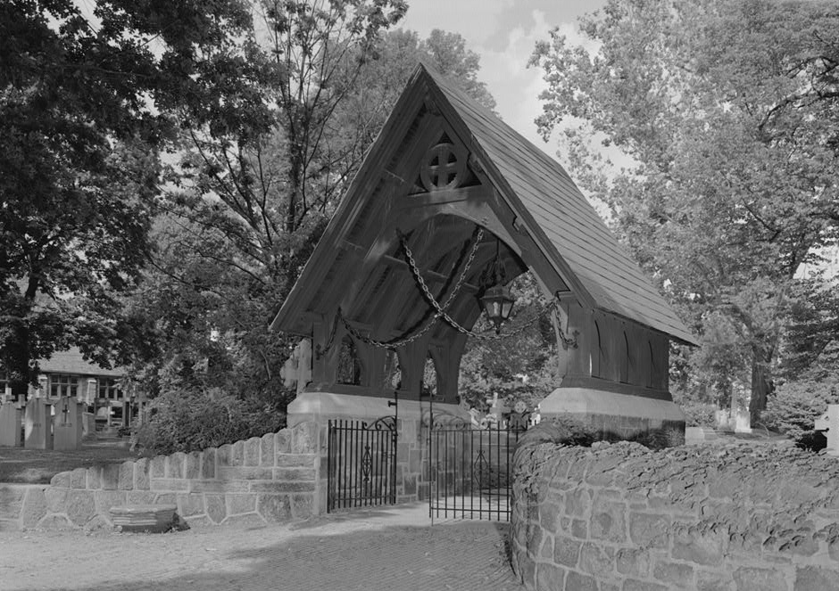 Lychgate at the Church of St. James the Less, Philadelphia
