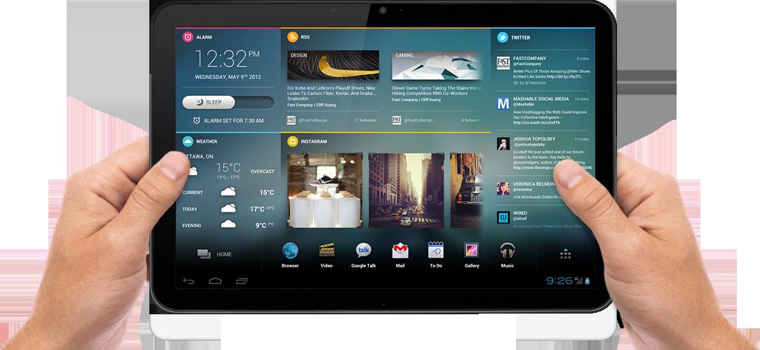 File Manejando La Nueva Tablet Png Wikimedia Commons