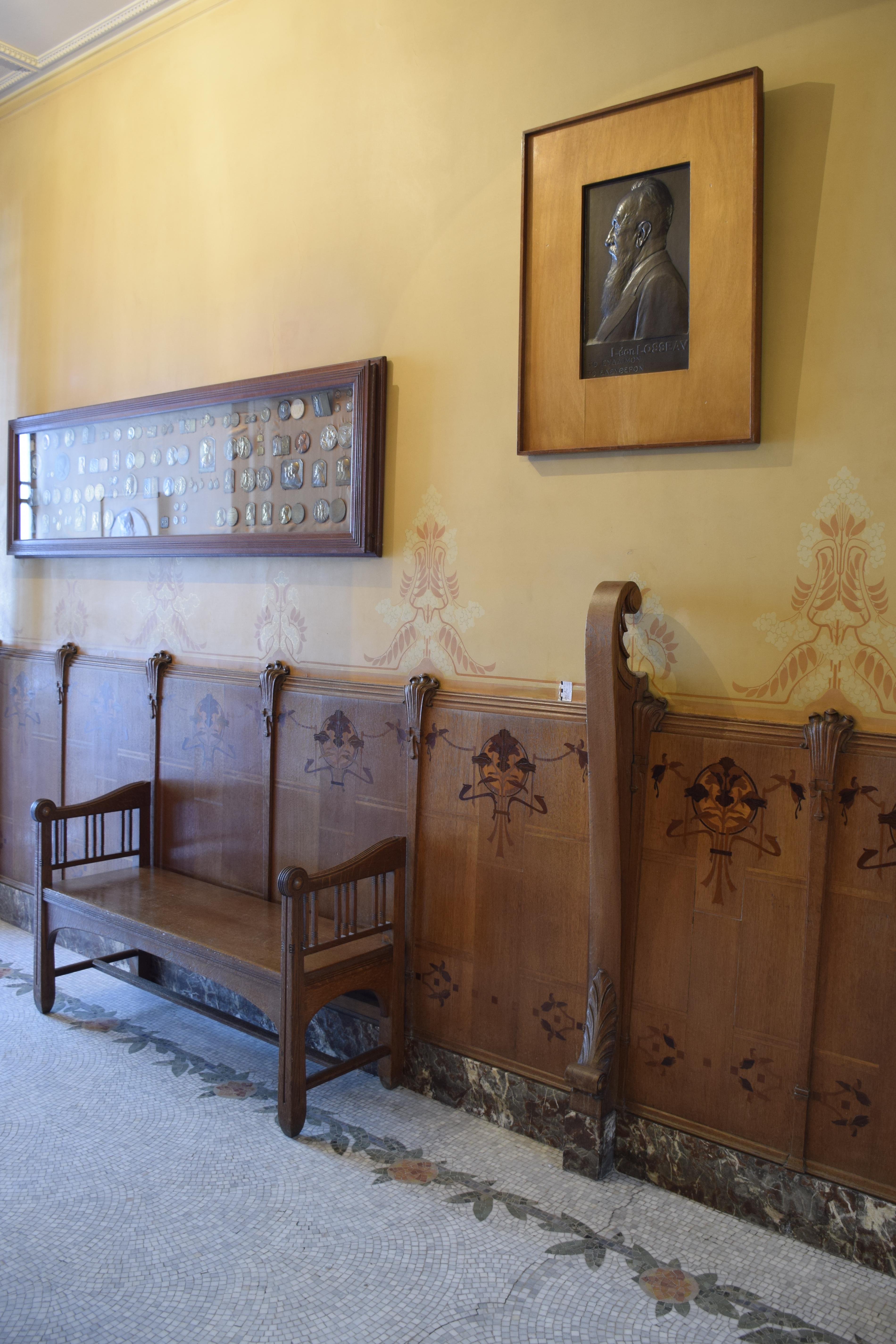 File:Maison Leon Losseau - hall d entree - parement mural et ...