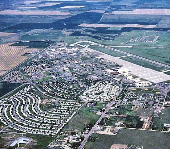 English: Photo of Malmstrom Air Force Base, Mo...