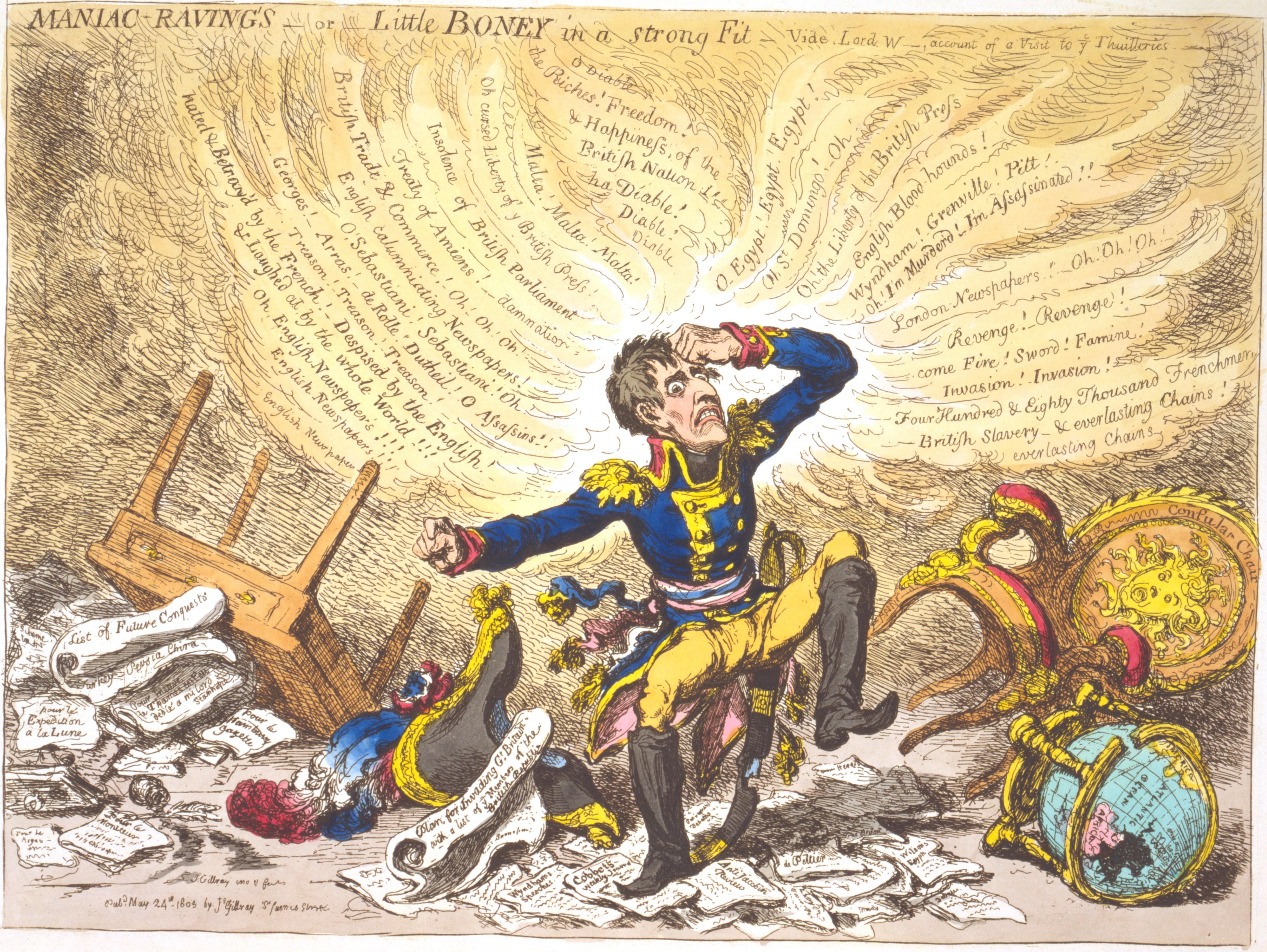 James Gillray: Caricaturist