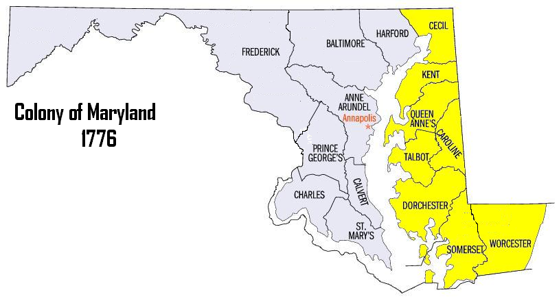 FileMap Of Maryland Counties EasternPNG  Wikimedia Commons