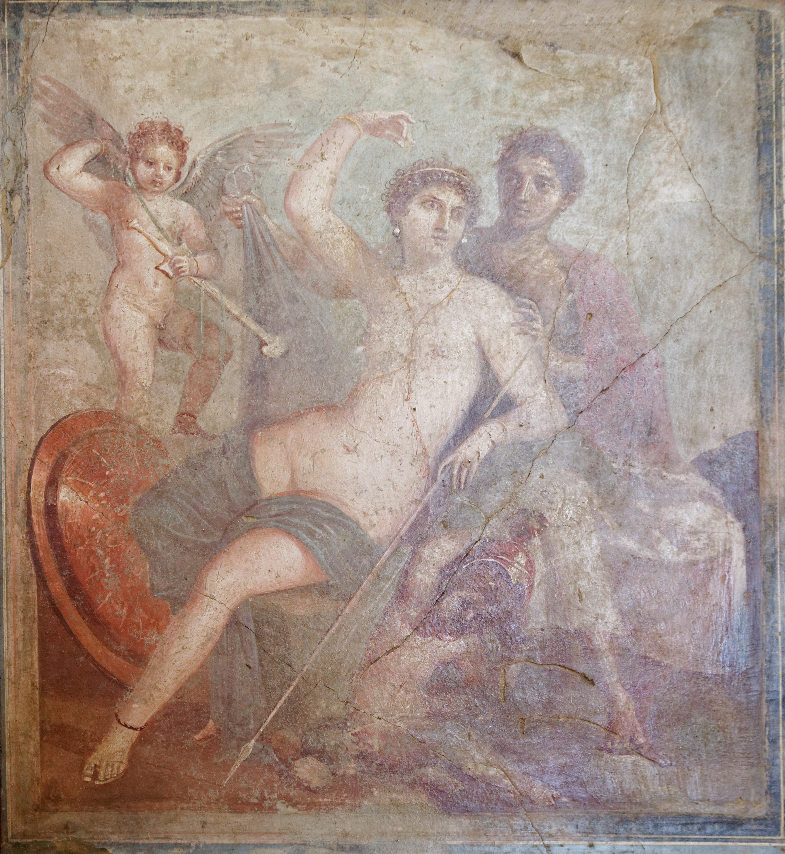 An image of Mars and Venus from Pompeii.