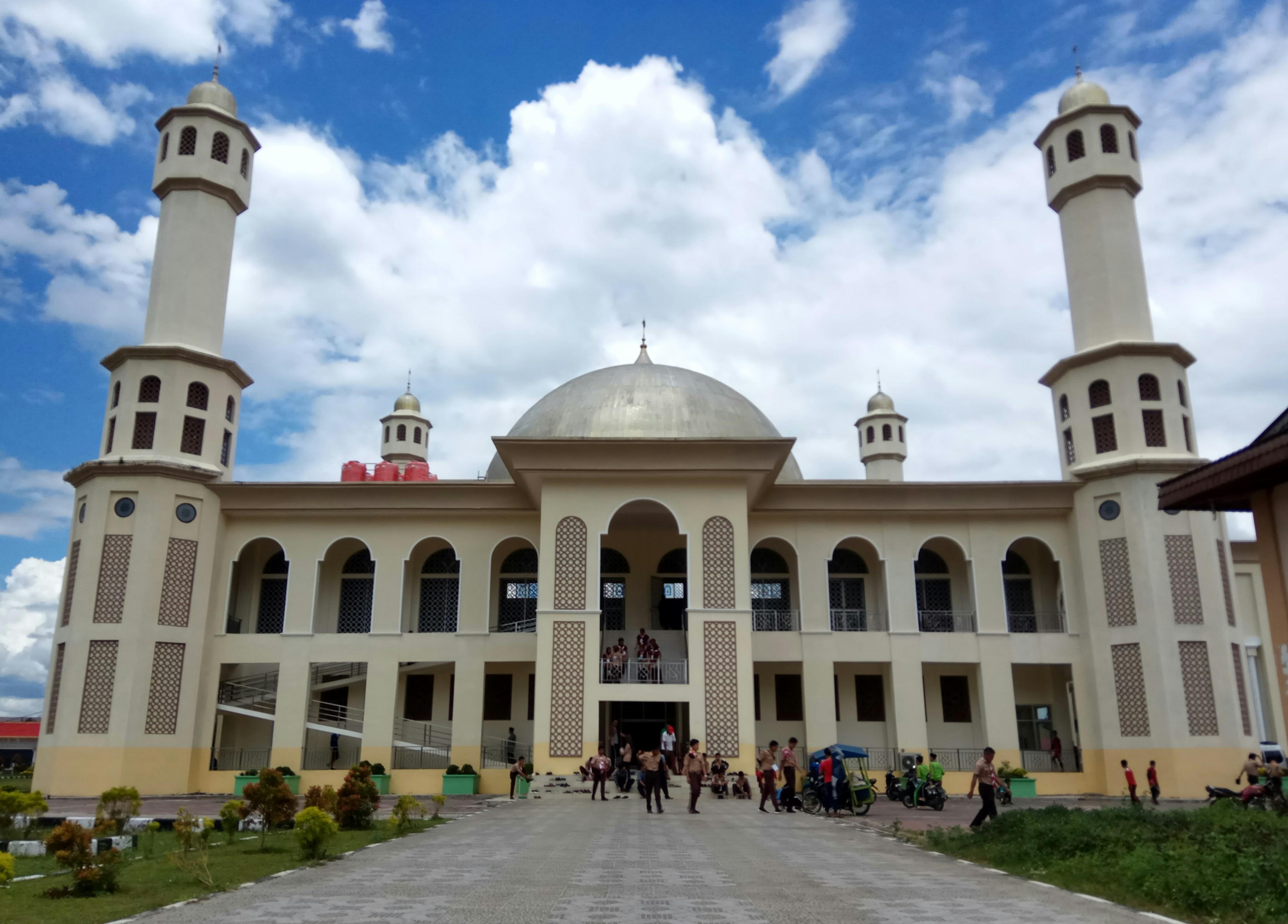 File Masjid Agung Kab Solok 2018 Jpg Wikimedia Commons